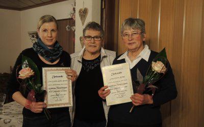 Landfrauen ehren Mitglieder